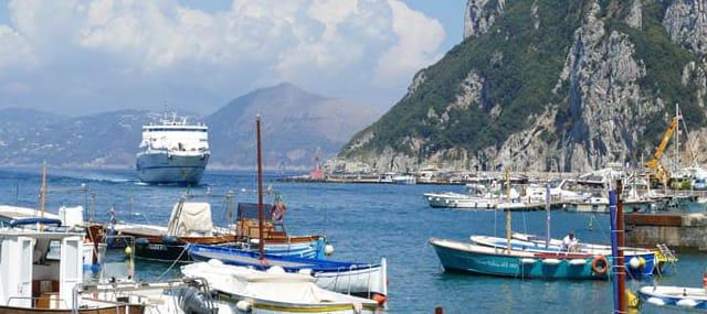shore excursion capri tour