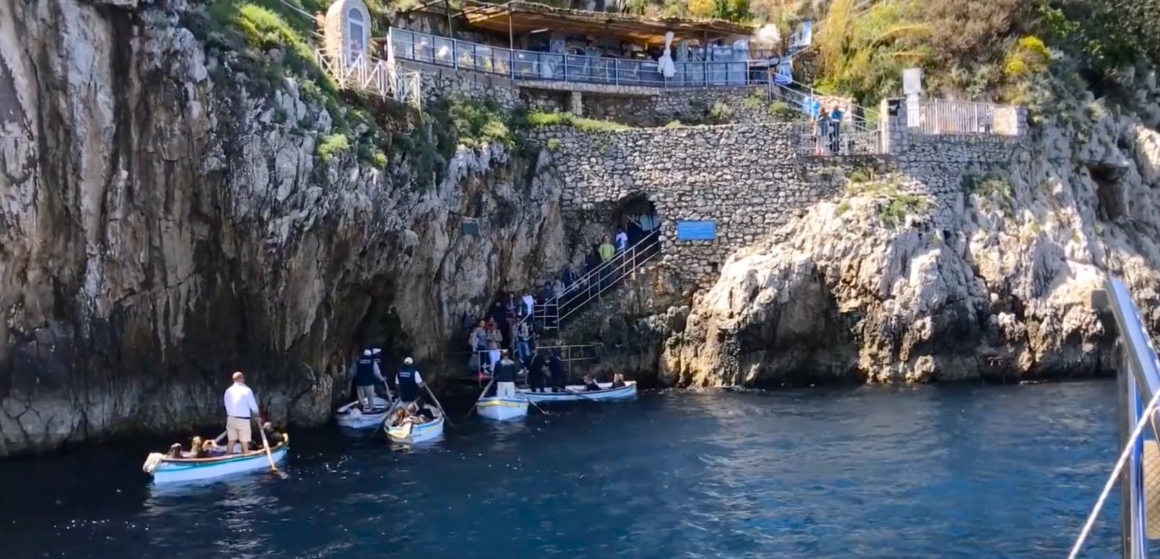 Rick steves blue grotto