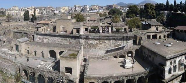 Herculaneumm guided tour
