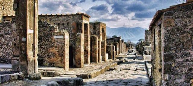 Pompei guided tour
