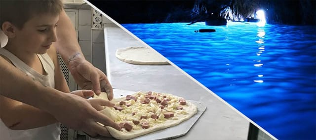 Pizza & BlueGrotto Tour