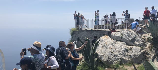 shared group capri tour